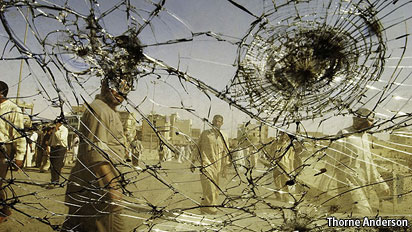 iraq windshield